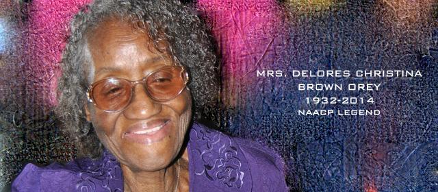 Delores Christina Brown Orey NAACP Legend