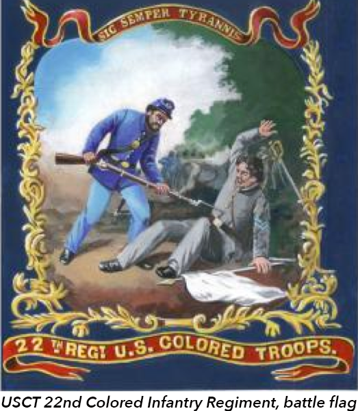 USCT 22nd Colored Infantry Regiment