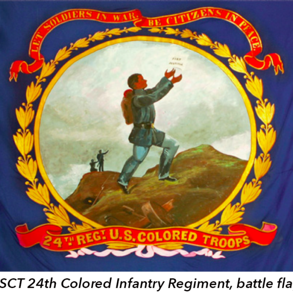 USCT 24th Colored Infantry Regiment